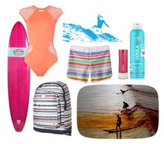 """""""Surf"""" by marce104 ❤ liked on Polyvore featuring Parvez Taj, COOLA Suncare, Seafolly and Roxy"""