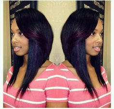 I Love This But Wouldn T Actually Get Style Dope Hairstylesweave Hairstyb Hairstyleexotic Hairquick