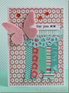 Anna Draicchio - sizzix big shot - card mom butterfly spring (1)