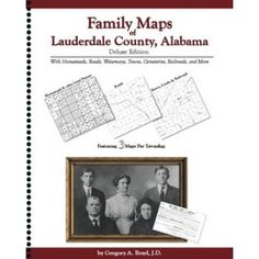 LAUDERDALE COUNTY, Alabama - Family Maps of Lauderdale County,  Alabama