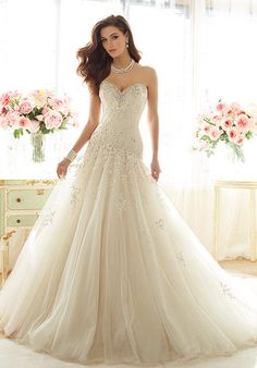 Sophia Tolli Y11637 - Marquesa Wedding Dress - The Knot