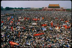 These Beijing Tiananmen Square Protest Pictures Are Like Nothing You've Ever Seen People's Liberation Army, Military Helicopter, Freedom Of Speech, The Clash, More Pictures, Picture Show, Troops