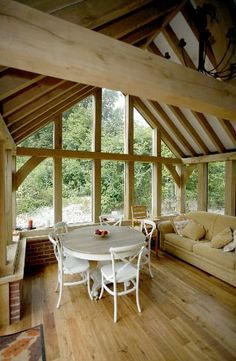 1000 images about conservatory on pinterest sun room for Timber frame sunroom addition