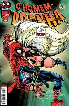 Homem-Aranha 1ª Série - n° 204/Abril | Guia dos Quadrinhos