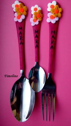 Measuring Spoons, Porcelain Ceramics