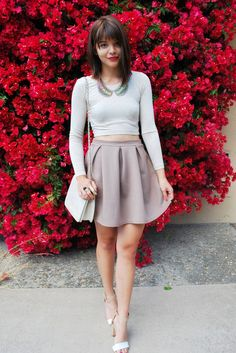 Keep it feminine with a gorgeous day skirt