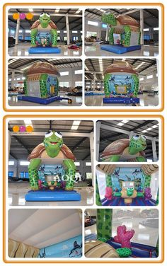 New design inflatable turtle bouncer with beautiful painting is great for kids.AOQI inflatables will give the deep impression in children's childhood. Inflatable Bouncers, Beautiful Paintings, Special Events, Turtle, Childhood, Deep, Fun, Kids, Design