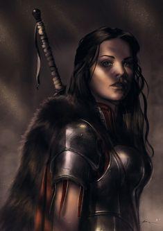 modern fiction character portrait - Google Search