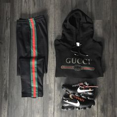 Behind The Scenes By hypedarchive Grid Gucci Behind The Scenes By hypedarchive Dope Outfits For Guys, Swag Outfits Men, Gucci Outfits, Stylish Mens Outfits, Tomboy Outfits, Nike Outfits, Casual Outfits, Men Casual, Fashion Outfits