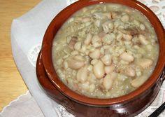 Zuppa Zì Teresa - Zuppa Fagioli e Orzo Perlato insaporita con tanta cipolla e fettine di guanciale. L'ho provata la settimana scorsa in un ristorante di Ca