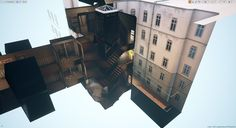 ArtStation - City 17 Stairwell and Attic Scene (UE4), Liam Tart