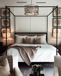 Learn how to create the perfect bedroom with these key design principles and ide. Learn how to create the perfect bedroom with these key design principles and ideas Interior, Home, Home Bedroom, Perfect Bedroom, Bedroom Interior, House Interior, Modern Bedroom, Interior Design, Interior Design Bedroom