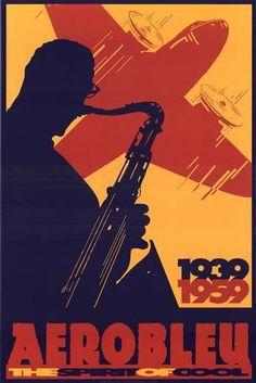 vintage jazz poster looks like sonny rollins httpwwwenjoyart