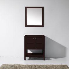 Virtu USA - ES-30030-CAB-ES - Winterfell 30 in. Bathroom Vanity Cabinet front view 30 Inch Bathroom Vanity, Bathroom Vanity Makeover, Bathroom Vanity Cabinets, Bathroom Vanity Lighting, Bathroom Vanities, Cabinet Fronts, Base Cabinets, Classic Elegance, Luxury Living