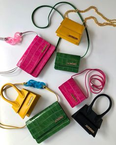 Louisa bags in candy hues 🍬 Tap to shop and see our stories for more must-have new arrivals. Source by kianazanjani aesthetic Jacques A Dit, Jacquemus Bag, Sacs Design, Barbie Accessories, Cute Bags, Cute Outfits For Kids, Luxury Bags, Mode Style, Purses And Handbags