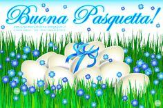 CARTOLINE Compleanno per Tutti i Gusti! CDB : Cartolina Auguri di Buona Pasquetta con Tante Uova...