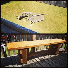 What it looks like when it's time to upgrade Outdoor Furniture, Outdoor Decor, Home Decor, Decoration Home, Room Decor, Home Interior Design, Backyard Furniture, Lawn Furniture, Home Decoration