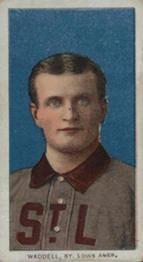 1909-11 The American Tobacco Company T206 White Border #493 Rube Waddell (Portrait) Front