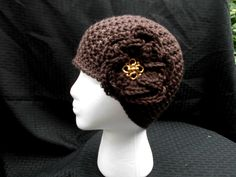 Crochet Hat, Cloche by CottageStreetStation on Etsy