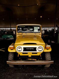 Mustard Yellow FJ40 Toyota Land Cruiser