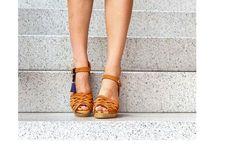 Clog | Kulikstyle | Swedish Clogs | Sandals | swedish | clog sandals | orange |sweden clog | sandalen | clog sandal | ORANGE