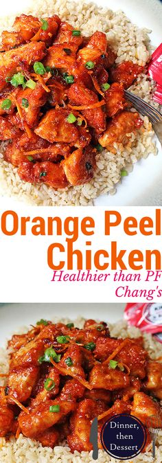 Spicy and sweet, with notes of orange flavor, this Orange Peel Chicken is a healthier version of the PF Chang's favorite!