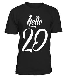 """# Birthday gift: Hello 20 years old T-shirt - Limited Edition .  Special Offer, not available in shops      Comes in a variety of styles and colours      Buy yours now before it is too late!      Secured payment via Visa / Mastercard / Amex / PayPal      How to place an order            Choose the model from the drop-down menu      Click on """"Buy it now""""      Choose the size and the quantity      Add your delivery address and bank details      And that's it!      Tags: Hello forty T-shirt…"""