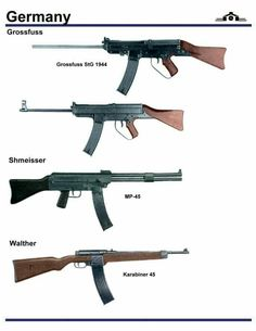 German WWII (Assault) Rifle prototypes?
