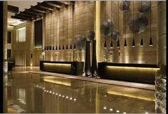 Top three hotel lobby designs which can inspire you - Home Arch Design W Hotel, Public Hotel, Hotel Lobby Design, Modern Hotel Lobby, Lobby Interior, Interior Architecture, Commercial Design, Commercial Interiors, Design Oriental