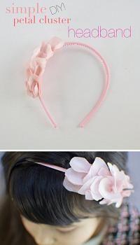 ~Ruffles And Stuff~: DIY Petal Cluster Headband!