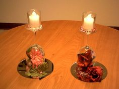 9 Awesome beauty and the beast themed wedding centerpieces images