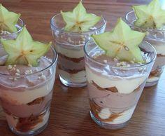Rezept Mascarpone Duo mit Sternfrucht und Spekulatius von kissente - Rezept der Kategorie Desserts