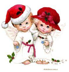 Silvita Blanco Bebes | Ángeles de Navidad