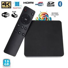 Yonis Mini Pc Android Tv Box passerelle multimédia Ram Cpu 16 Go Quad, Bluetooth, Cable Ethernet, Smartphone, Mini Pc, Pc Android, Apple Tv, Technology, Samsung