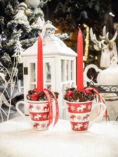 Table decoration for Christmas / Karácsonyi asztaldísz Christmas Holidays, Christmas Crafts, Christmas Decorations, Table Decorations, Christmas Ornaments, Holiday Decor, Advent, Dyi, Gifts
