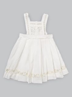 Couverture and The Garbstore - Childrens - Pero - Handmade Cotton Pinafore Dress