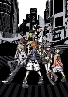 The World Ends With You - Not just the greatest handheld game of all time. Possibly the greatest game period.