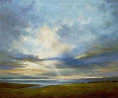 oil painting | Heavenly Light III | Ugallery Online Art Gallery