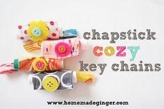 chapstick cozy key c