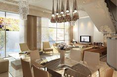 MD Villa Modern Design by Jieda Sweid, via Behance All Design, Modern Design, Villa, Home And Garden, Ceiling Lights, Modern Moroccan, Behance, Interior, Conceptual Design
