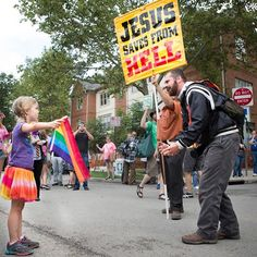 Zea, The Ohio Girl Who Stood Up To A Homophobic Preacher, Is Everyone's New Hero : huffpost gay voices - 7/1/15