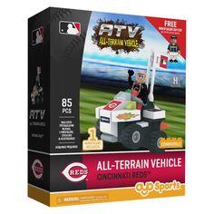 MLB Cincinnati Reds Oyo Atv Toy Vehicle - 85pcs