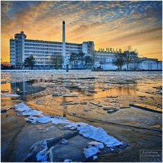 The Winter Factory ~ #photography