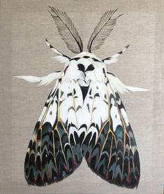 Oily Oil is a unique space in Russian internet, created to unite people who are in love with art, connoisseurs of art and young artists. Beautiful Bugs, Beautiful Butterflies, Cute Moth, Moth Drawing, Grandeur Nature, Bugs And Insects, Creature Design, Art Inspo, Art Reference
