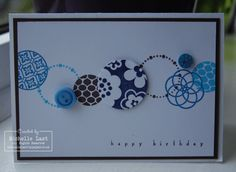 Stampin Up Card Club - Birthday card inspiration - with Michelle Last