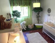 A Lost Themed Baby Nursery