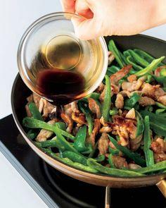 「中華の黄金比ダレ」で、チンジャオロースーも簡単ウマい Japchae, Green Beans, Vegetables, Cooking, Ethnic Recipes, Yahoo, Food, Kitchen, Cuisine