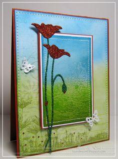 Ereti Kaardimaania: Sparkling poppies