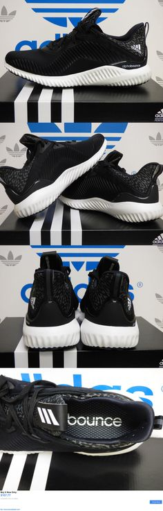Men Shoes: New Adidas Alphabounce Mens Running Shoes - Black/White: B54189 BUY IT NOW ONLY: $107.77 #priceabateMenShoes OR #priceabate Alpha Bounce, Mens Running, Black Running Shoes, Casual Shoes, Men's Shoes, Adidas, Black And White, Boots, Baby