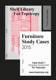 timonmattelaer:  Modular bookshelf concept for TopoCopy.